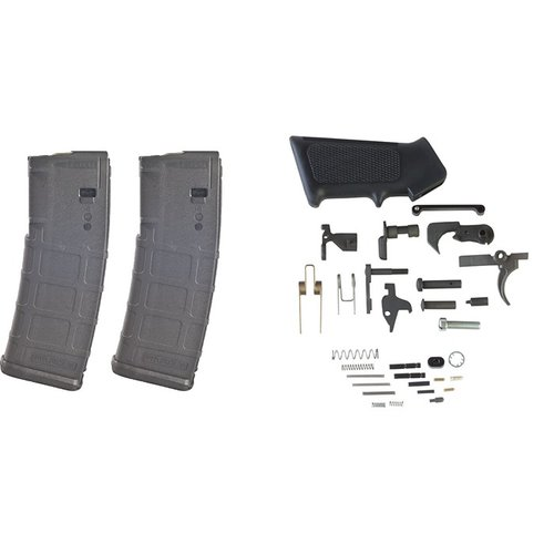 AR-15 DPMS Lower Parts Kit w/ 2-pk 30-Rd PMAGs