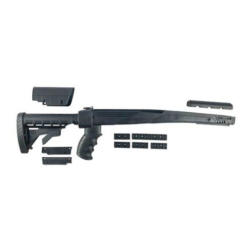 SKS Strikeforce Stock Adj Polymer BLK
