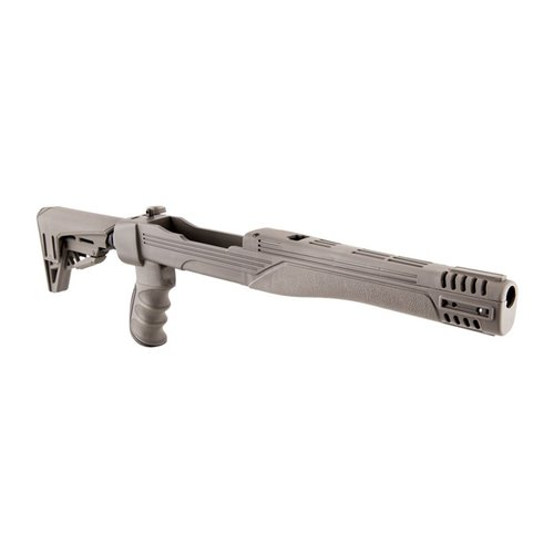 Ruger 10/22 Strikeforce Stock Adj Polymer Gray