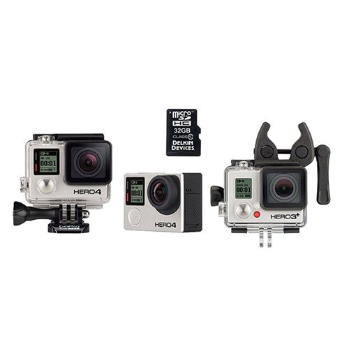 GoPro Hero4 Black Sportsman Bundle