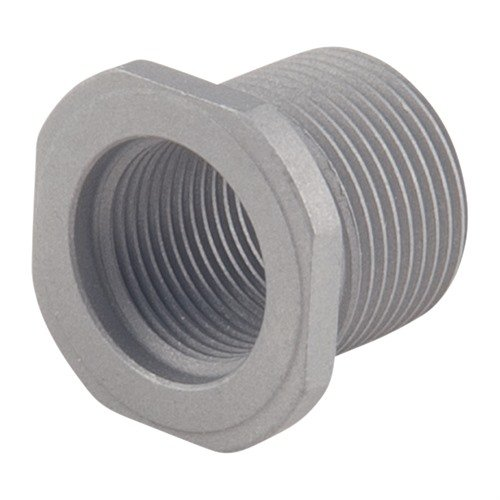 Thread Adapter 1/2-28 to 5/8-24 Stainless Steel