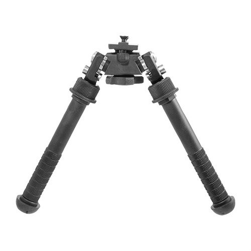 "Atlas PSR Bipod No Clamp Picatinny Mount 5-9"" Black"
