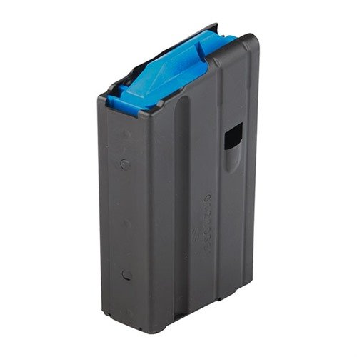 AR-15 Magazine 6.5 Grendel 10rd Stainless Steel Black