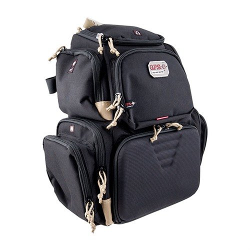 Handgunner Backpack-Black & Tan
