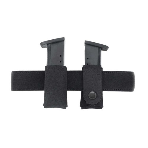 Carry Lite Mag Carrier .32/.380 Single Metal Mag-Black