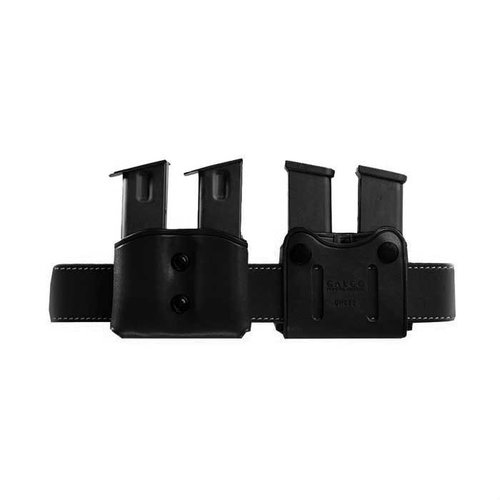Double Mag Carrier .45 Staggered Metal Mag-Black