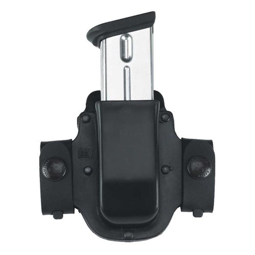 M15X Single Mag Carrier .40 Staggered Metal Mag-Black