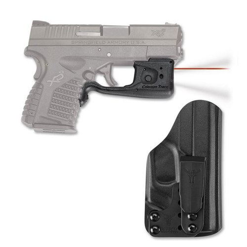 Springfield XD-S Red Laserguard® Pro™ + IWB Holster