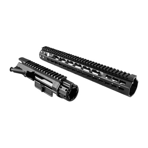 AR-15 Upper Receiver Extended Rifle Length Keymod Black