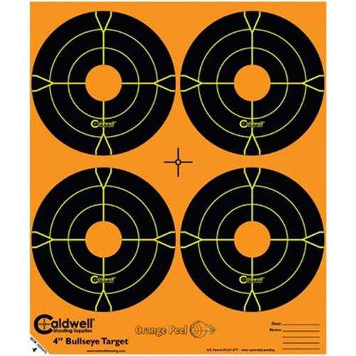 Orange Peel 4 bullseye 5 sheets
