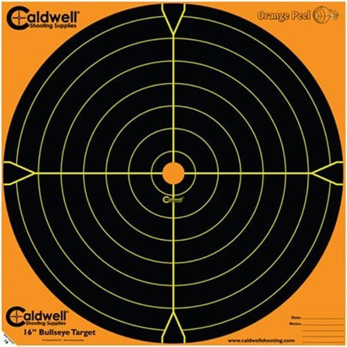 Orange Peel 16 bullseye 10 sheets