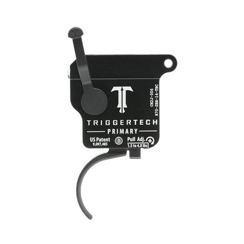 Remington 700 Primary Trigger Curved Black
