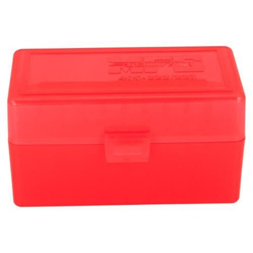 Red 223 Famiy 50 Round Ammo Box