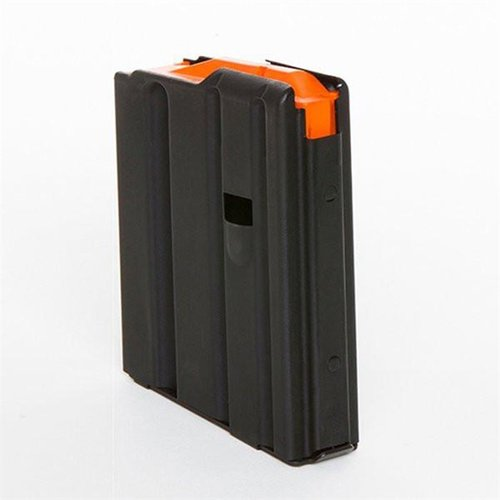 10-Round .223 AR Blk Magazine w/Orange Follower