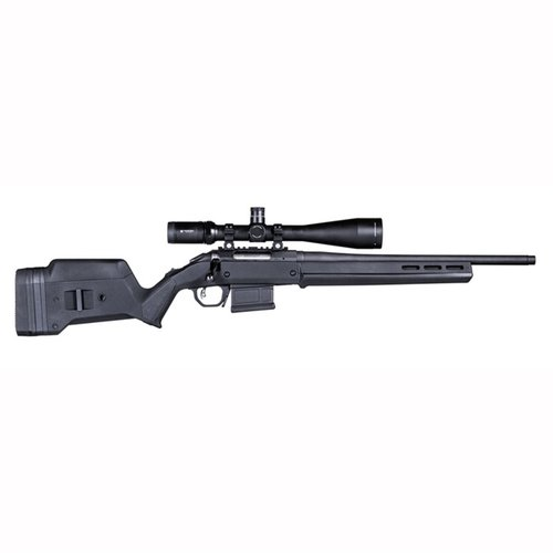 Ruger American  S Action Stock Adjustable Polymer Black