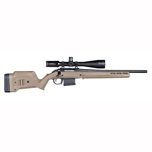 Ruger American  S Action Stock Adjustable Polymer FDE