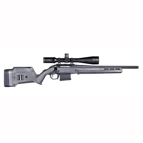 Ruger American  S Action Stock Adjustable Polymer Gray