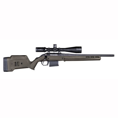 Ruger American  S Action Stock Adjustable Polymer OD Green
