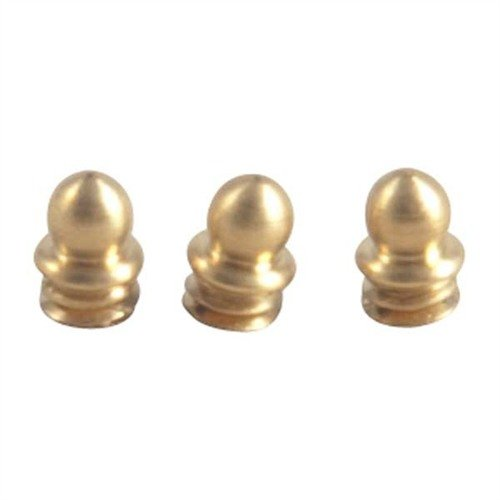 "Brass Skirted Bead, 1/8"" 5-40 TPI, Gold, 3-Pak"