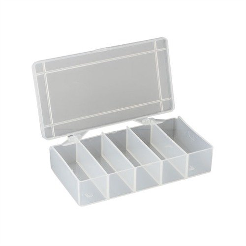 "5-7/8""x3-1/2""x1-3/4"", 5 Compartments Pkg. of 2"