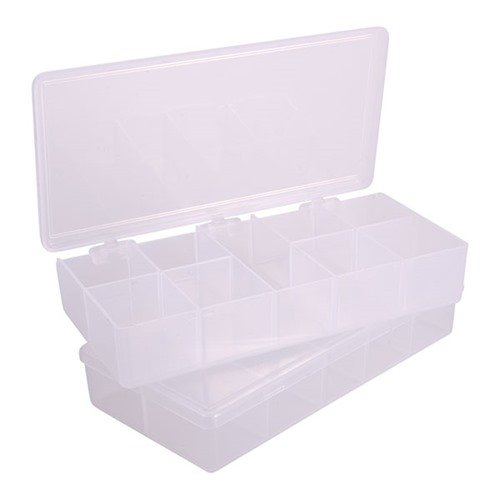 "7""x3-1/2""x1-1/4"", 9 Compartments Pkg. of 2"