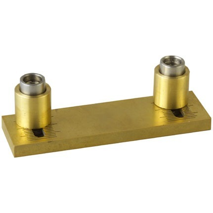 #350D Adjustable Comb Hardware Gold Aluminum