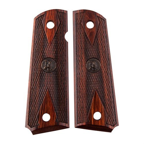 1911 Grips Double Diamond Rosewood
