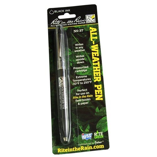 All-Weather Click Style Pen - Black Ink