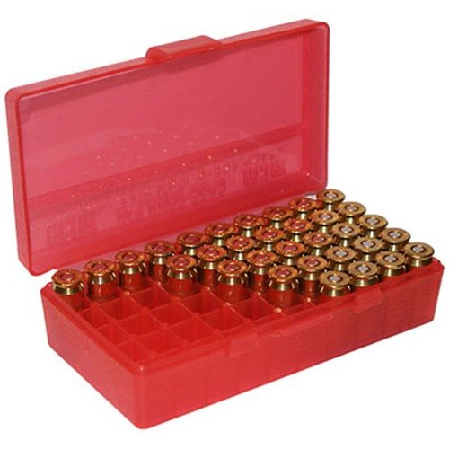 Ammo Boxes Pistol Red 45ACP-40-10mm 50