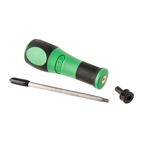 Flash Hole Deburring Tool w/.22 Cal Pilot