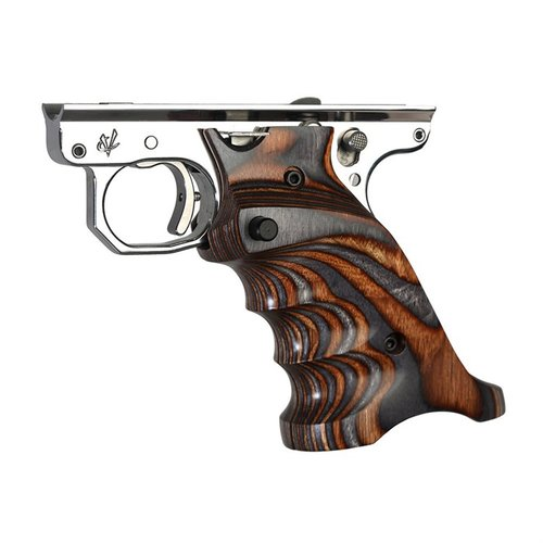 Ruger MKIV Laminated Wood Grips, RH, Brown & Gray