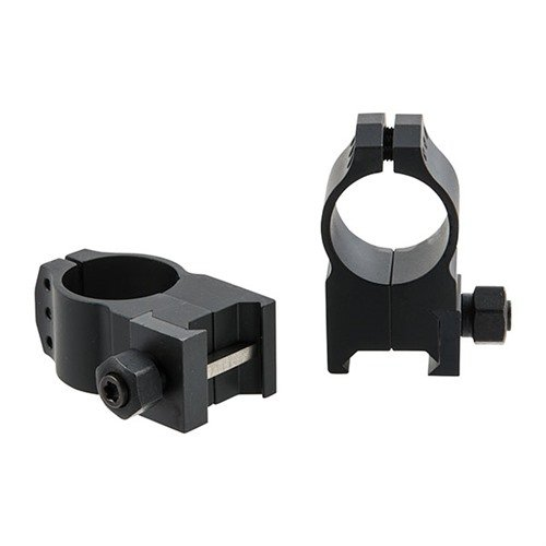 Tactical Rings 1 inch Extra-High Matte