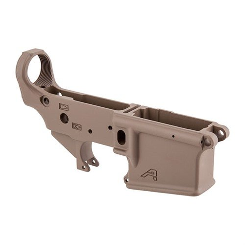 AR-15 Gen 2 Stripped Lower Receiver, FDE/Desert