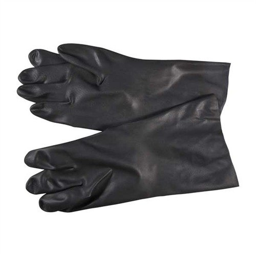 Size 11, 22ML Black Neoprene Gloves, Pair